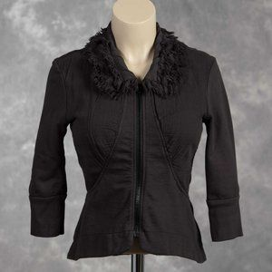 Prairie Underground Fringe Rag Collar Jacket